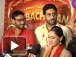 Team of 'Bol Bachchan' on the sets of Tarak Mehta Ka Oolta Chashma
