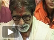 BIG B at Lal Baag Ka Raja