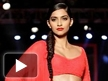 Sonam at Manish Malhotra show
