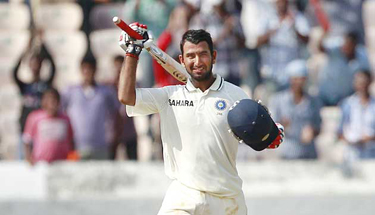 Yuvraj, Pujara dominate England at lunch on Day 2